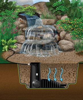 MicroSnorkel/MicroCentipede  | Pondless Waterfall Kits