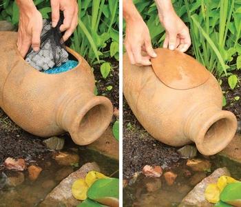 Pond Filter Urn | Gravity Flow Filters