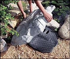 Savio Small Cover Stone | Compact Skimmers